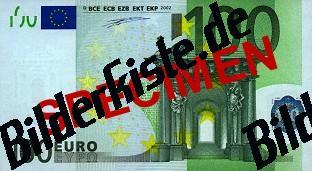 Banknote 100 Euro Vorderseite