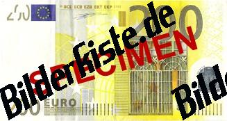 Geldschein 200 Euro Vorderseite