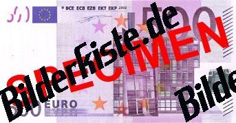 Geldschein 500 Euro Vorderseite