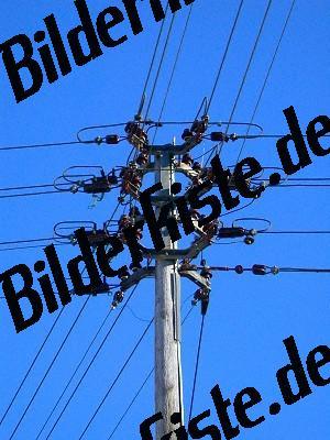 Strommast Freileitungen