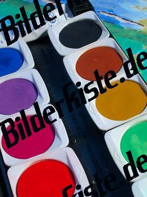Malkasten Wasserfarben