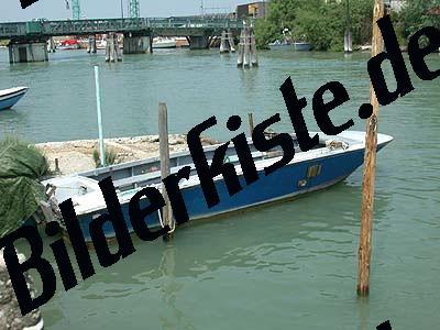 Boot festgemacht