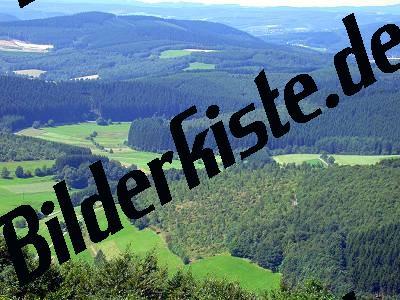Landschaft mit Feldern