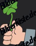 Vier blättriges  Kleeblatt