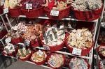 Muscheln im Verkauf