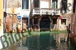 Venedig Wasser-Kreuzung