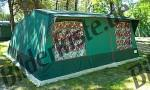 Campingzelt Gruen