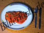 Fisch auf Brot