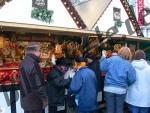 Verkaufsbude Weihnachtsmarkt