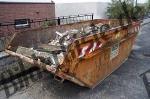 Container mit Bauschutt