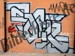 Grafiti ad un muro