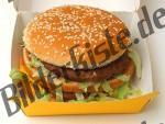 Hamburger in Schachtel