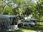 Zelt auf Campingplatz