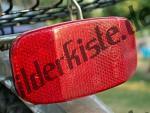 Reflektor am Fahrrad