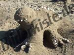 Sandbau Ungeheuer