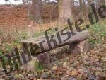 Bank aus Holz