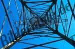 Strommast von innen