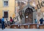 Schwatzmarkt in Italien