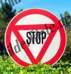STOP-Zeichen (Italien)