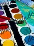 Pinsel Wasserfarben