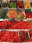 Gemuese auf  dem Markt